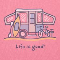 Life is Good T with my favorite summer accessories: Business Travel, Camping Shirts, Life Is Good, Tent Trailers, Camping Ideas, Pop Up Camper, Camping Glamping, Lifeisgood