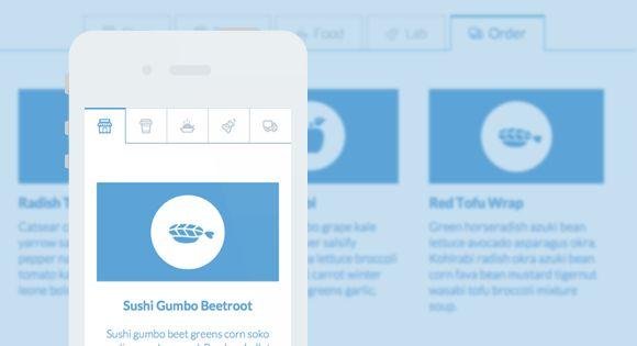 Blueprint Full Width Tabs. http://tympanus.net/Blueprints/FullWidthTabs/