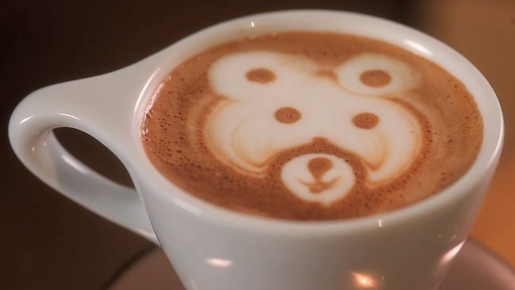 How to Etch a Bear | Latte Art