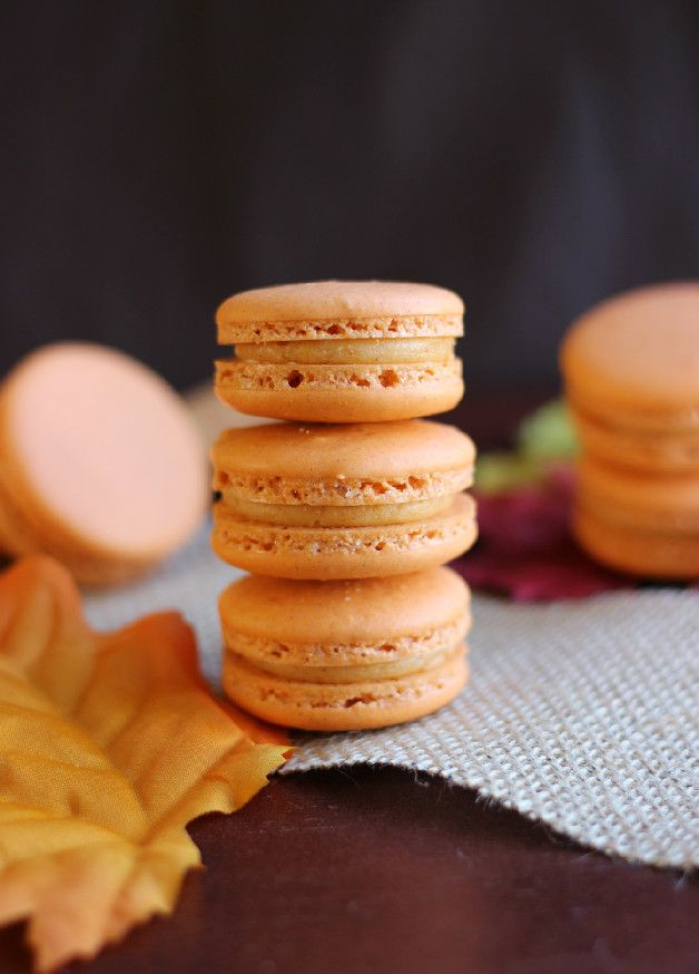 Culinary Couture: Sweet Potato Pie Macarons