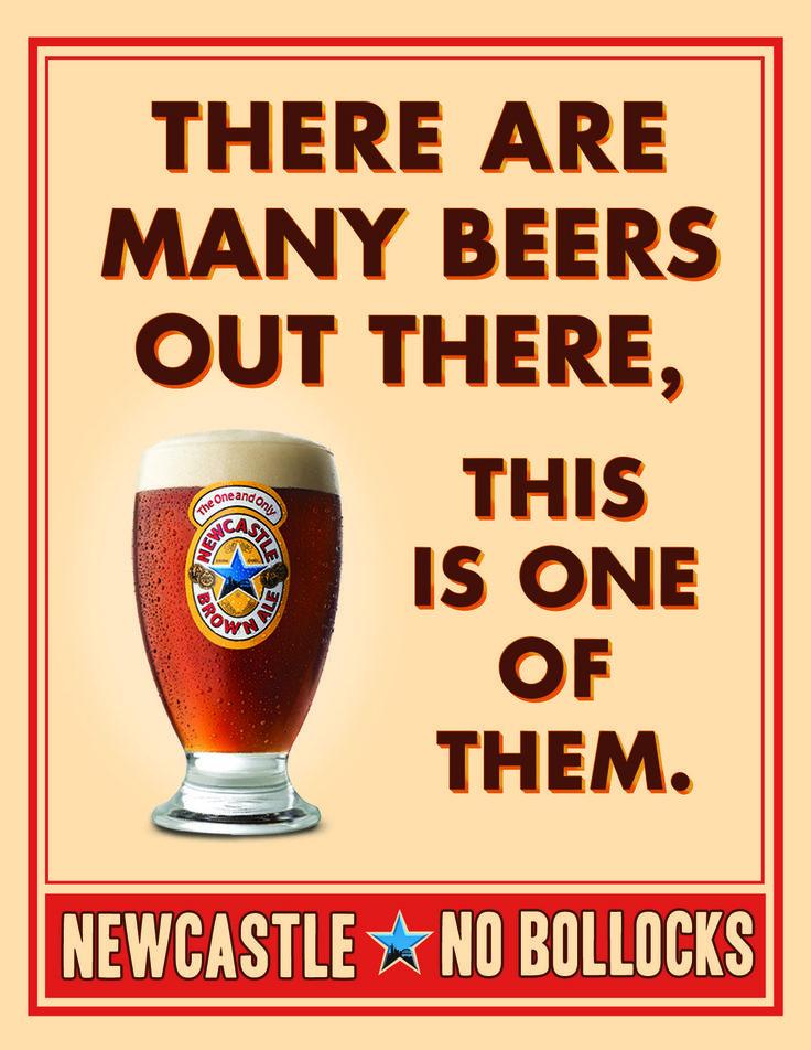 newcastle brown ale no bollock - Google Search
