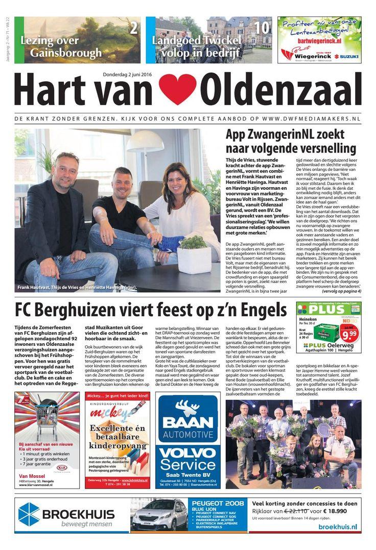 Hart van Oldenzaal 071  Hart van Oldenzaal 071 wk22, de leukste lokale krant van Oldenzaal!