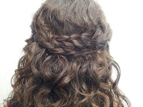 algunos recogidos para pelo rizado