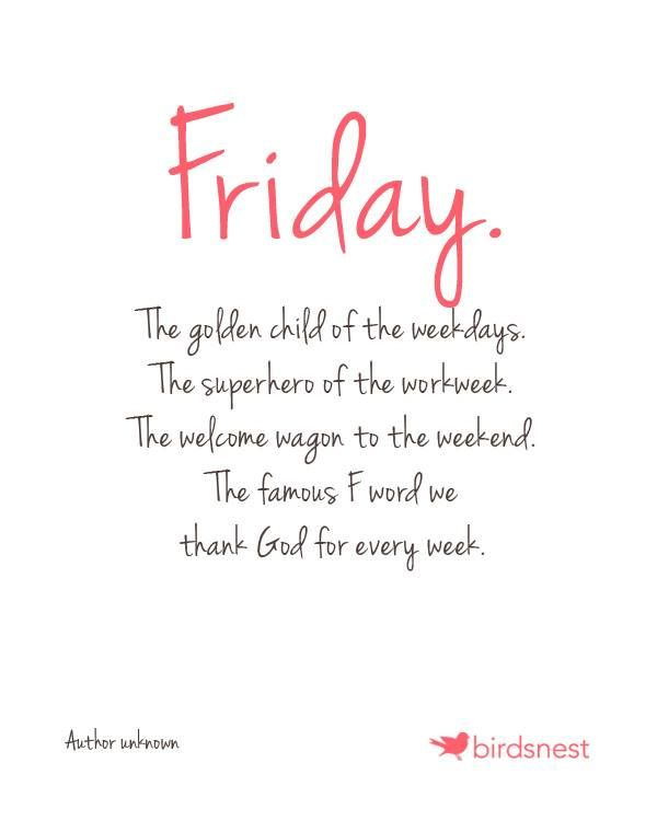 friday!!! | Work quotes