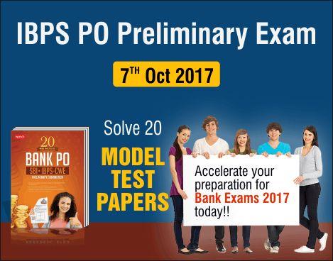 Are you really willing to join the Banking Sector at a very reputed designation of Probationary Officer? This can only be achieved with a proper strategy . Practice through MTG's 20 Model #Practice Sets - Bank #PO #SBI #IBPS, CWE Preliminary examination and understand the paper structure.