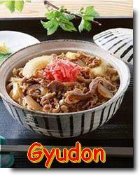 Receita de Gyudon