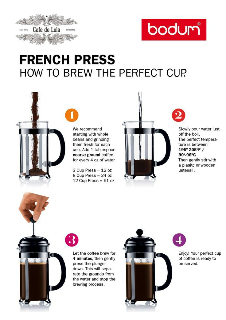 French Press Coffee Maker Manual : 89 best images about Imagenes de Cafe on Pinterest Amigos, No se and Manual