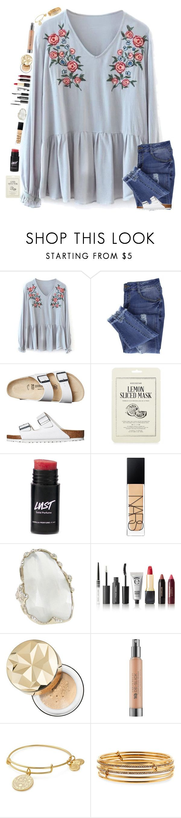 """""""this is so mean and stupid rtd :/"""" by classyandsassyabby ❤ liked on Polyvore featuring Essie, Birkenstock, Kocostar, NARS Cosmetics, Lucifer Vir Honestus, Bare Escentuals, Urban Decay, Alex and Ani and Kate Spade"""