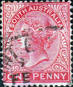 South Australia 1876 Queen Victoria SG 176 Fine Used SG 176 Scott 58 Other Australian stamps here