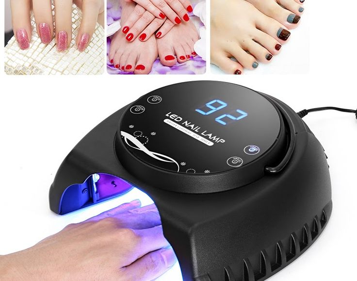 Technology for Beauty - Nail Polish Dryer   Nail Polish Dryer - 60W LED 395 to 405nM UV Wavelenght 4 Timing Modes Safe To Use LCD Display 50000 Hour Service Life  Checkout at -http://clnk.in/eYEX  Checkout for Indians at Flipkart -http://fkrt.it/i8sqQ!NNNN  Key Features...  60W LED nail dryer hardens your polish in up to no time  An ultra-bright 395  405nM UV wavelength efficiently dries your nails  4 different timing modes and large LCD timer make sure your polish wont crack  50000 hours…