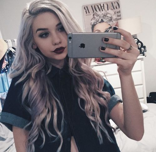 17 best ideas about blonde girl selfie on pinterest