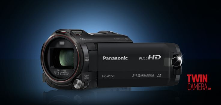 Test kamery #Panasonic HC-W850. #WiFi, #NFC i dwa obiektywy #video #camera #japan #gadgets #tv