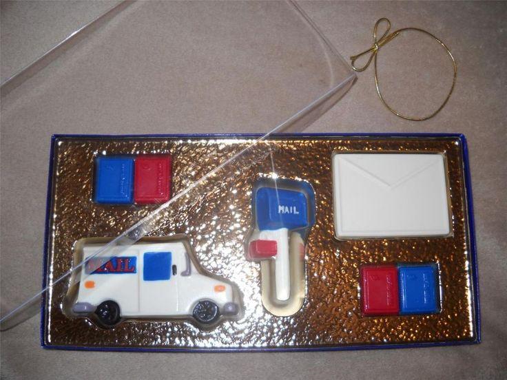 7pc Chocolate Designer Box usps ups mail carrier mailman box Lollipop Lollipops #castlerockchocolatesapphirechocolates