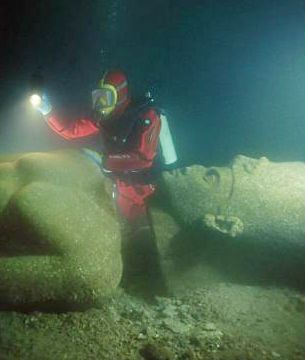 Best Ancient Sunken Cities Images On Pinterest Travel - Explorers discover ancient 1200 year old egyptian city