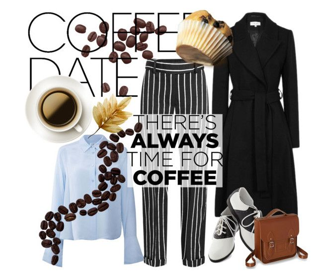 breakfast in coffee house by slytheriner on Polyvore featuring Equipment, Haider Ackermann, Pinup Couture and CoffeeDate