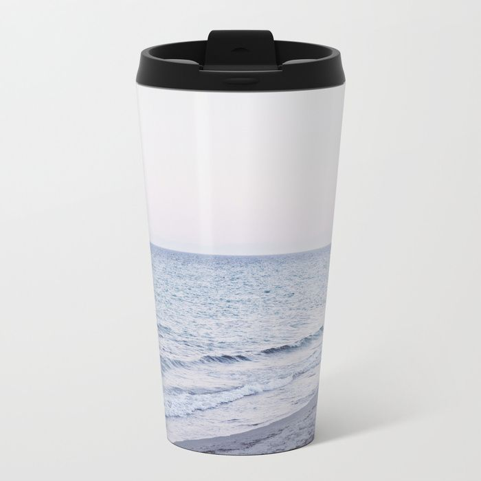 Metal Travel Mug Sensation by ARTbyJWP via Society6 #mugs #coffeemug #travelmug #metalmug #mugs -  Talk about steely good looks. In addition to a 360-degree wraparound design, our metal travel mugs are crafted with lightweight stainless steel - so they're pretty much indestructible. Plus, they're double-walled to keep drinks hot (or cold), fit in almost any size cup holder and are easy to clean.