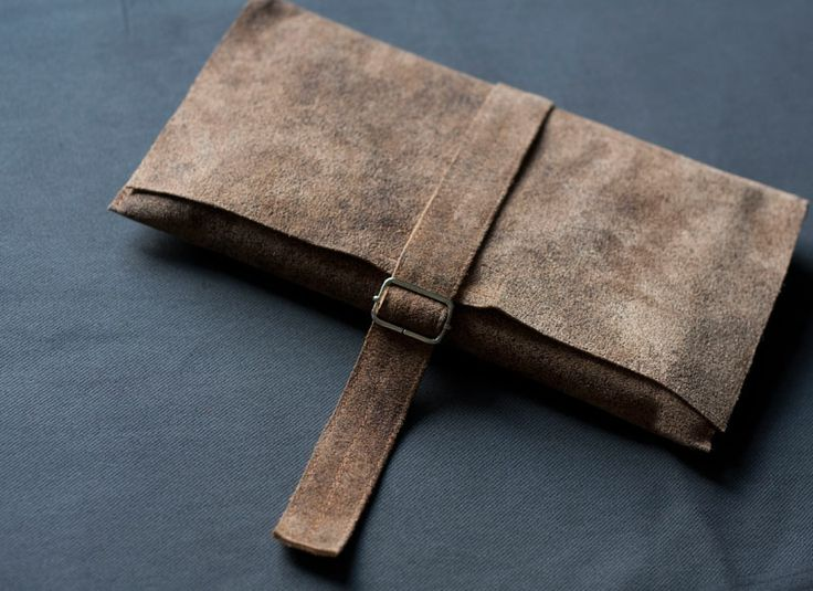 Obwoluta/ okładka na książkę. #accessories #LeatherAccessories #suede  #leatherbookcover #leatherbook