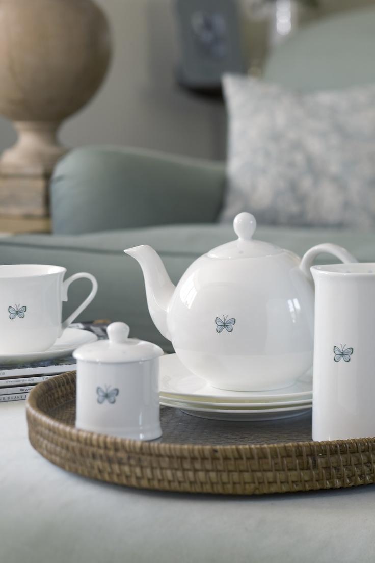 Butterflies - China - Porcelain