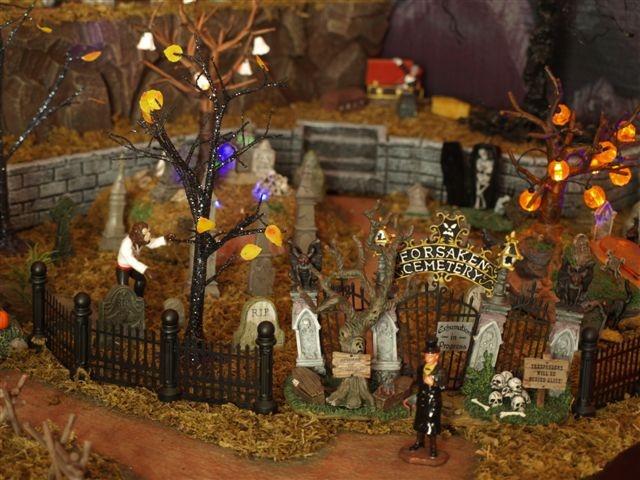 village halloween street party