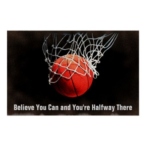 Motivational Quote Basketball