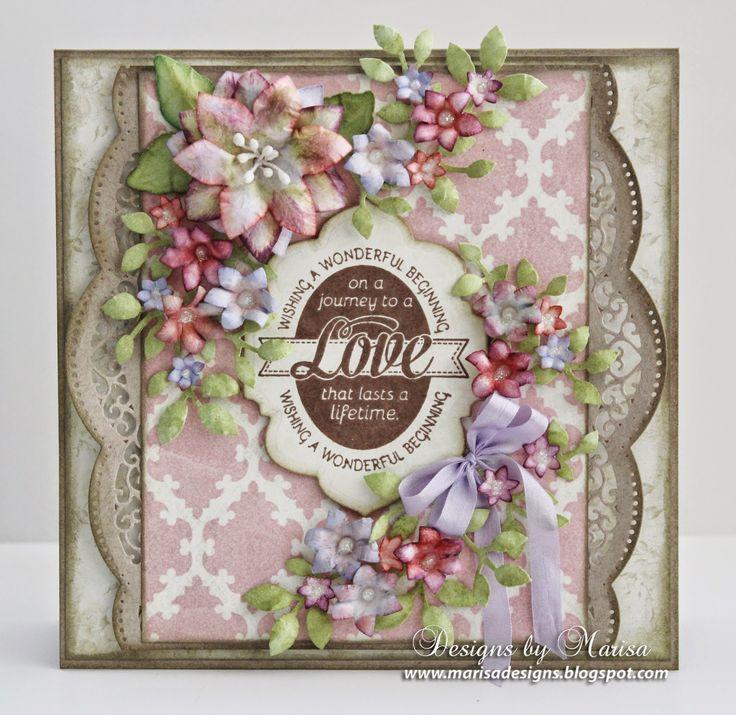 Designs by Marisa: JustRite Papercraft September Release - Wedding Wi...