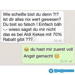 Lustige WhatsApp Bilder und Chat Fails 37