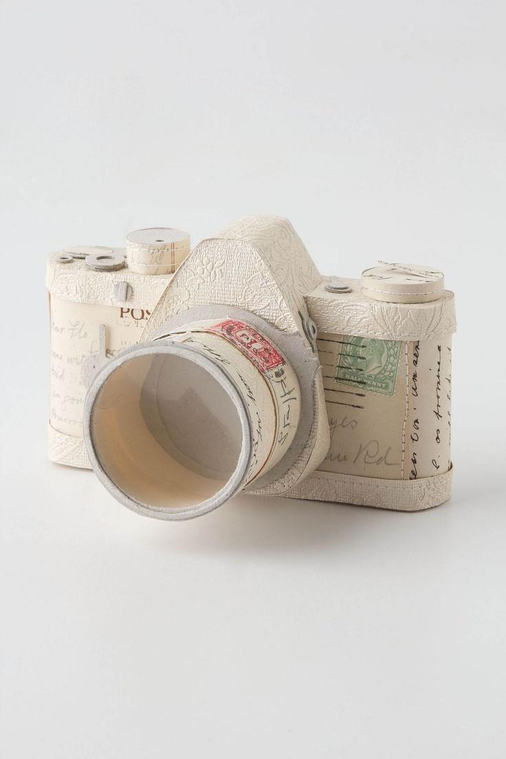 Paper Postcard Camera