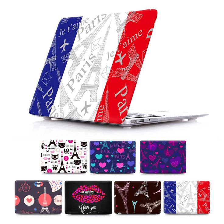 French flag For macbook air 11 12 13 Print cover Eiffel Tower Hard Case Macbook Pro 13 15 With Retina Laptop Accessories shell