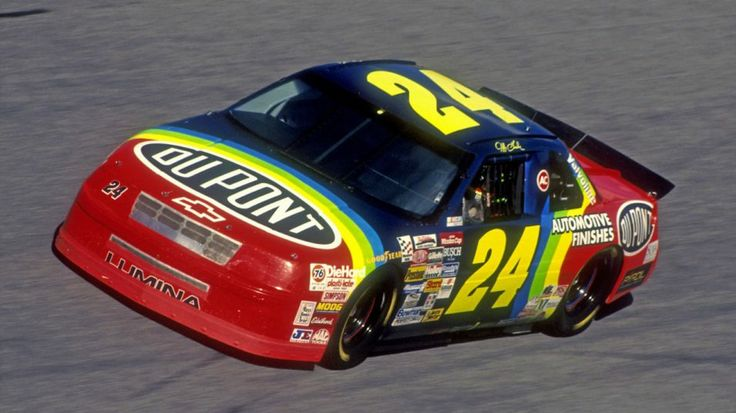 Jeff Gordon's 1994 Chevrolet Lumina -- At the age of 22, Gordon drove this Hendrick Motorsports Chevy to his first NASCAR Sprint Cup race victory in the Coca_Cola 600. He would go on to win three series championships in the next four years.