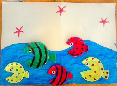 Fish in the sea craft!