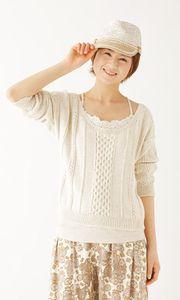 編みモノ女子の皆さんこんにちは! 今回は手編みの醍醐味!セーターをご紹介したいと思います。 手編みのセーターは…