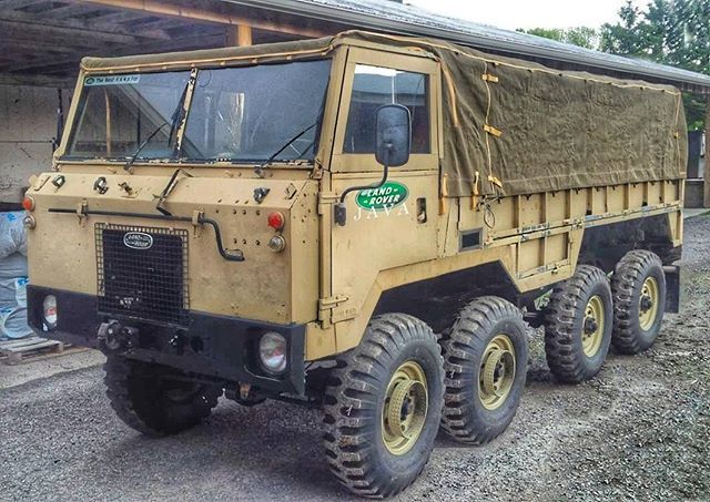 4x4 or 4+4 - Forward control monster…