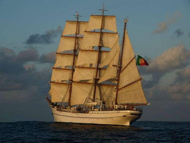 Sagres ex-Albert Leo Schlageter ex-Guanabara Owner - Portuguese Navy Built - 1937 Shipyard - Blohm + Voss, Hamburg