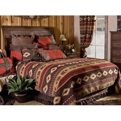 You'll love the Adirondack Comforter Set at Wayfair - Great Deals on all Bed & Bath products with Free Shipping on most stuff, even the big stuff.