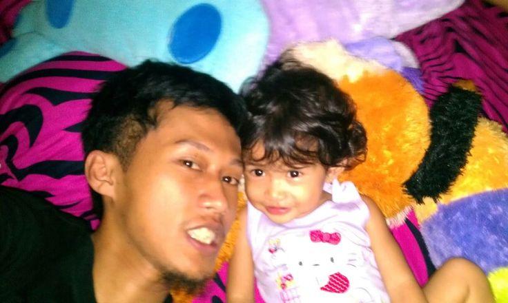 Hey... She is name Kirana. My daughter.