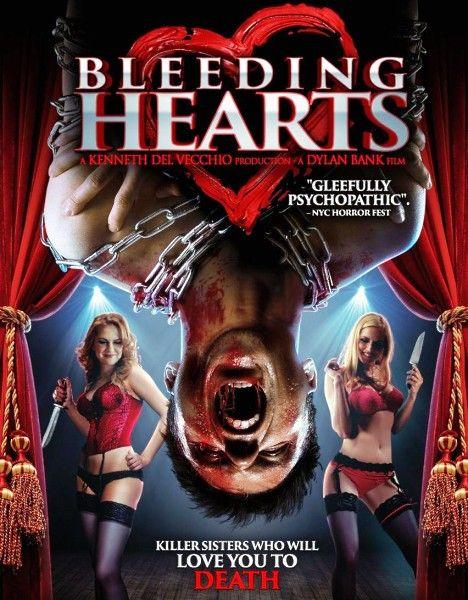 Кровоточащие сердца / Захваченные сердца / Bleeding Hearts / Captured Hearts (2015/WEB-DLRip)  5 сестер-мужененавистниц каждый год собираются вместе, дабы похищать мужчин, насиловать и убивать.