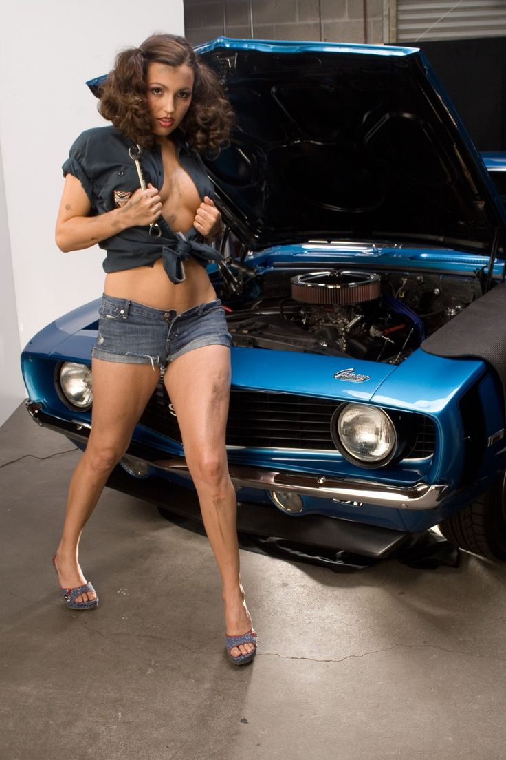 image Hot babe in camaro sees my dick