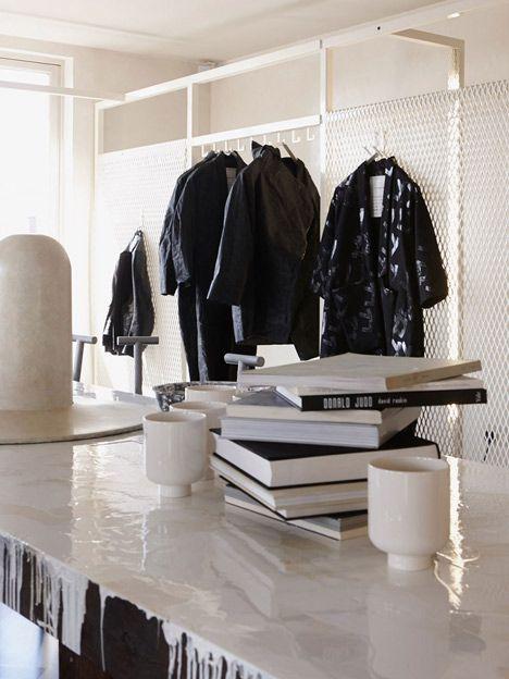 "British designer Faye Toogood transforms a London boutique into a ""bohemian"" artist atelier"