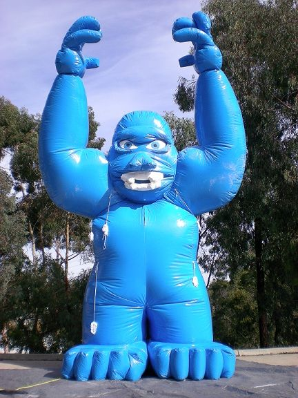 Gorilla inflatable