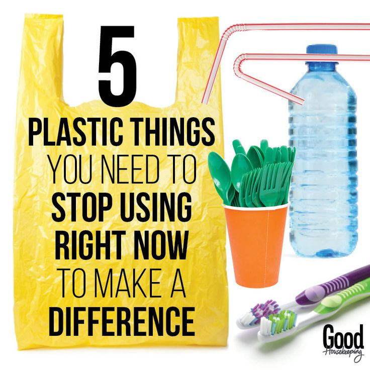 5 plastic items we need to stop using now: Plastic is a man-made object, and our planet can't dispose of it on its own