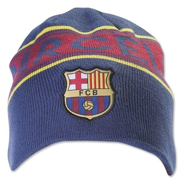 FCバルセロナ リバーシブル ビーニー 帽子