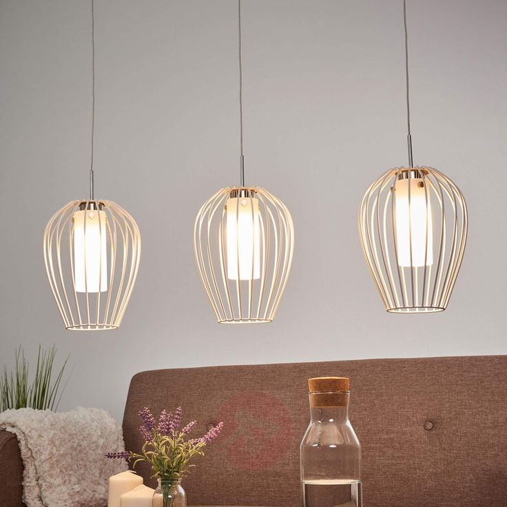 AFFILIATELINK | Dreiflammige LED-Hängelampe Venci…