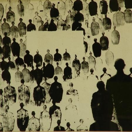 Timbri (-). Opera d'arte di Renato Mambor.