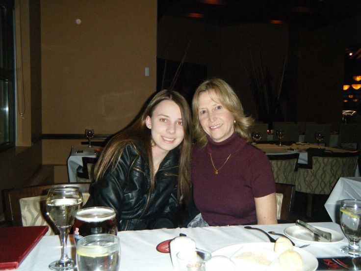 Laurie @LikesToSwim Girls night out. Dinner in Niagara Falls to celebrate Mother's Day! Cheers!  #HillcrestMom