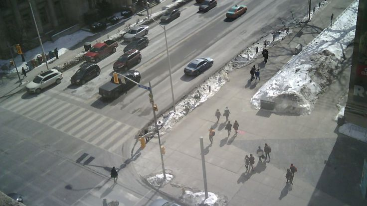 Toronto traffic timelapse