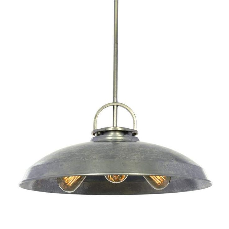 Buy The Miseno Galvanized Steel Direct Shop For Full Sized Industrial Style Pendant And Save