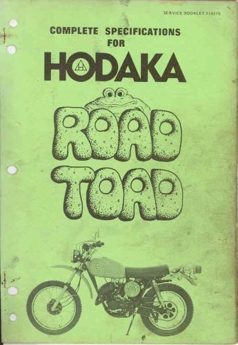 Details About 1973 1976 Hodaka 100 Road Toad Motorcycle
