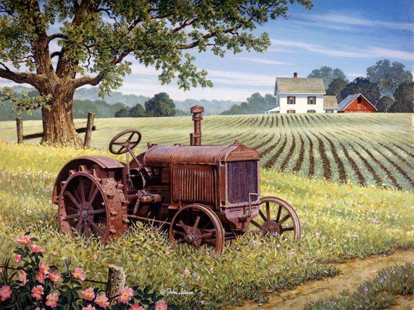 Old Faithful by John Sloane