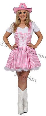 Pink cowgirl fancy dress costume #dolly parton #country girl free #postage,  View more on the LINK: 	http://www.zeppy.io/product/gb/2/281897360955/
