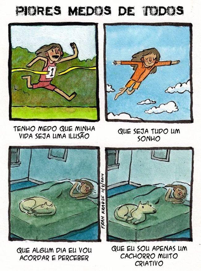 Satirinhas - Quadrinhos, tirinhas, curiosidades e muito mais! - Part 30